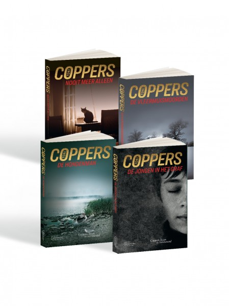 Toni Coppers - collectie 4 thrillers